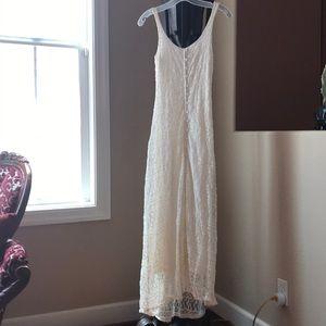 Sexy Abercrombie lace maxi dress